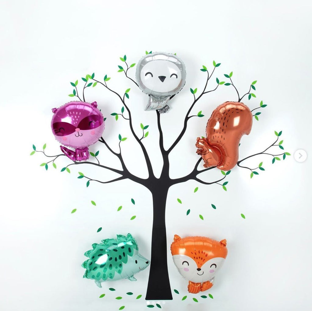 "Anagram 45cm (18"") Hedgehog Foil Balloon-Party Love"