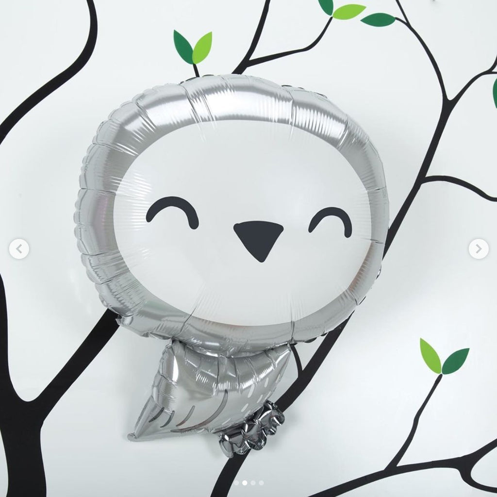 "Anagram 45cm (18"") Owl Foil Balloon-Party Love"