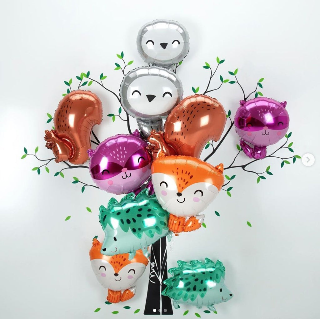 "Anagram 45cm (18"") Raccoon Foil Balloon-Party Love"