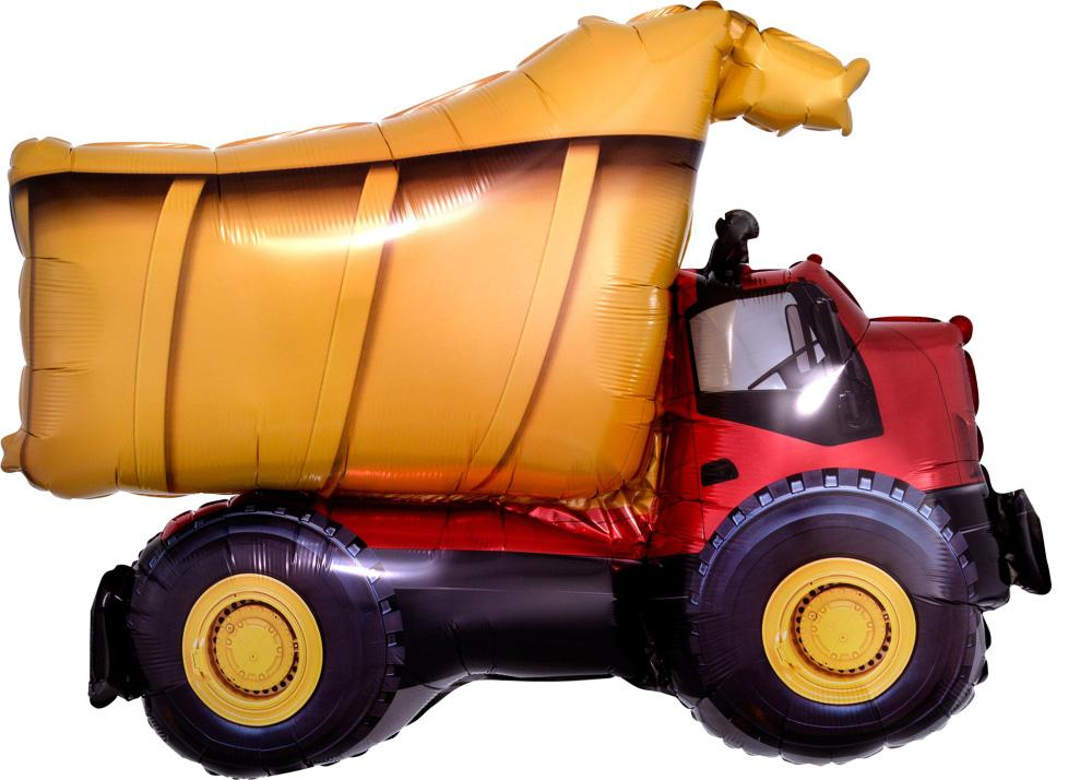 Anagram Foil SuperShape Dump Truck (81cm x 63cm)-Party Love