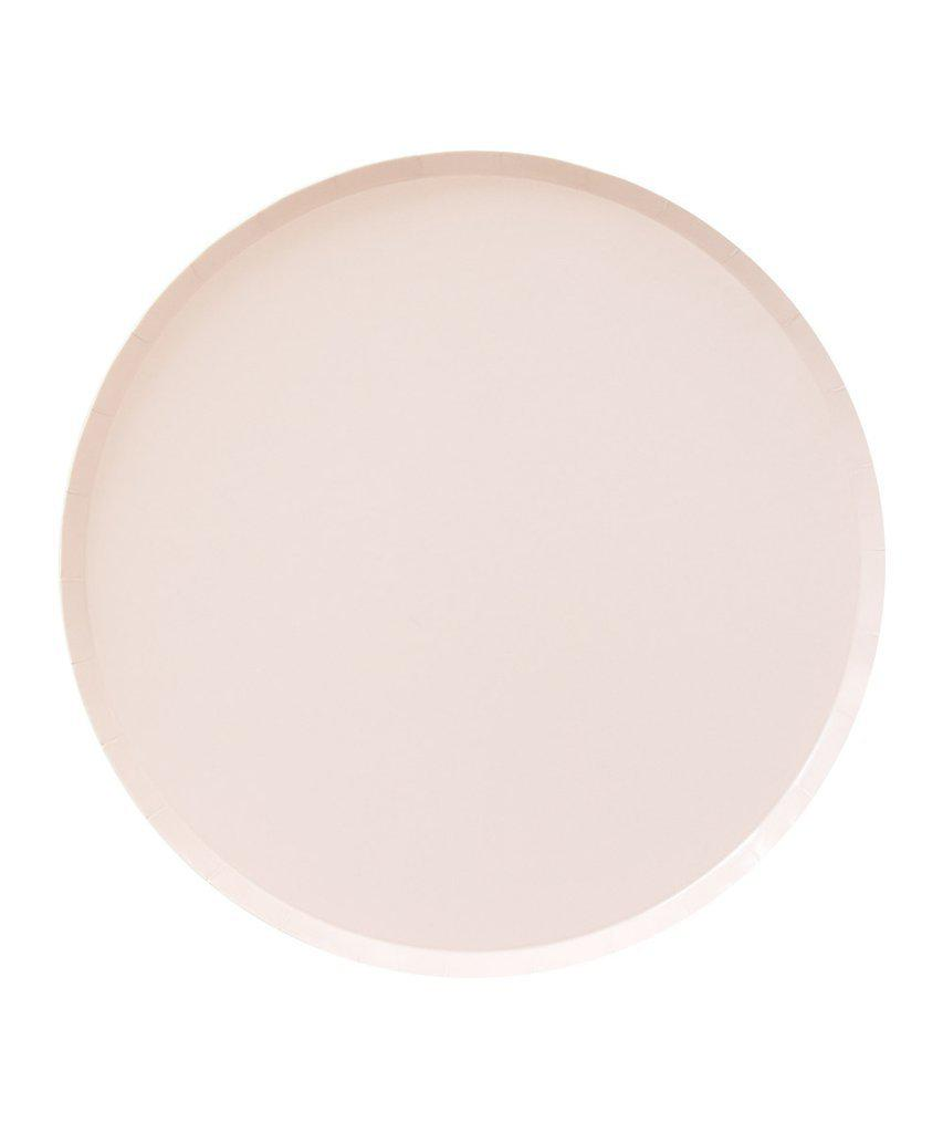 Ballet Pink Party Plates(Large)-Party Love