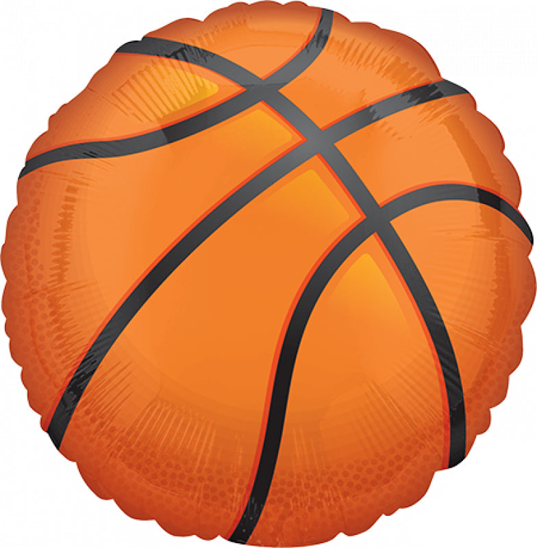 71cm Basketball foil balloon Nothin' but Net Basketball-Party Love