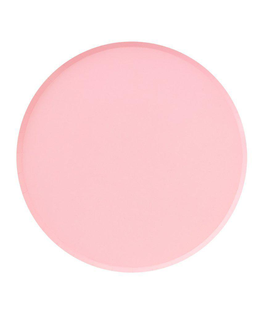 Blush Pink Party Plates (Large)-Party Love