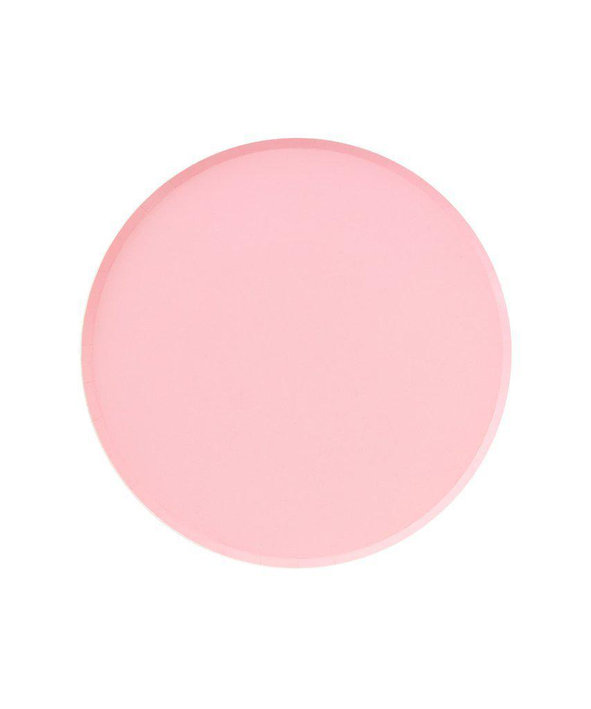 Blush Pink Party Plates (Small)-Party Love