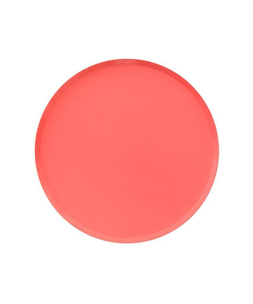 Coral Party Plates (Small)-Party Love