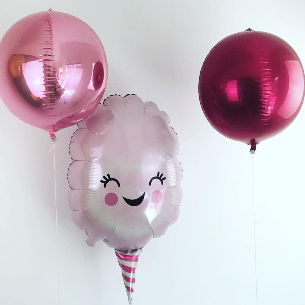 Cotton Candy Foil Balloon 76cm-Party Love