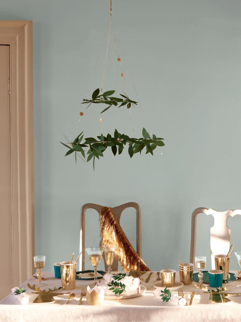 Festive Foliage Christmas Chandelier-Party Love