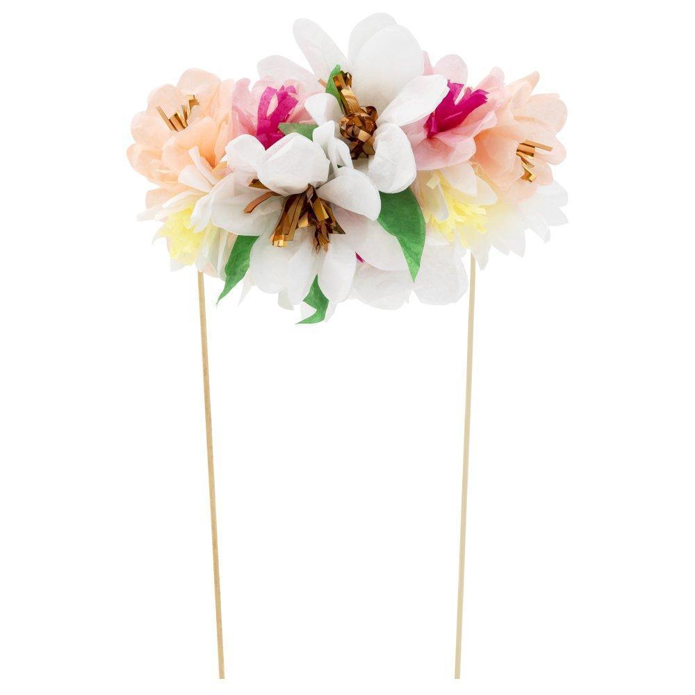 Flower Cake Topper-Party Love