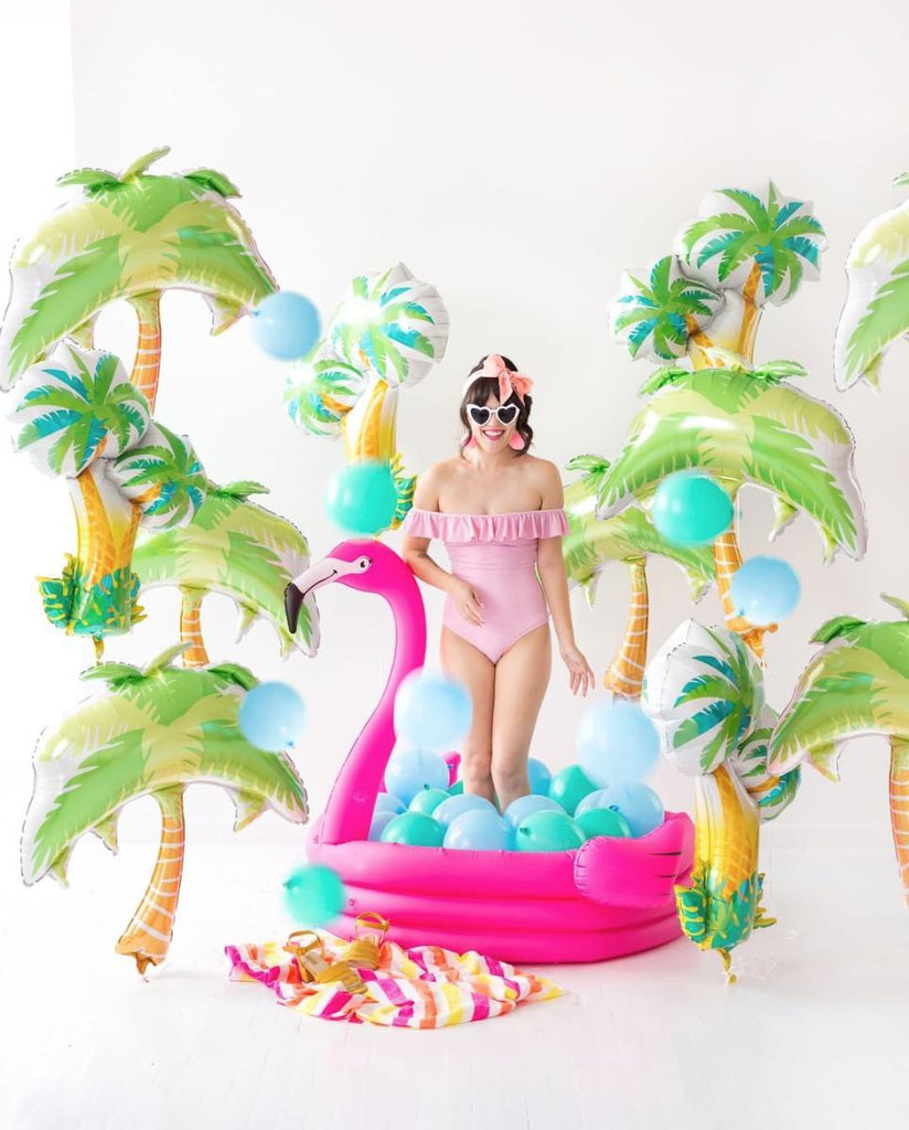 "Foil Shape Summer Palm Tree Balloon 18""-24""-Party Love"