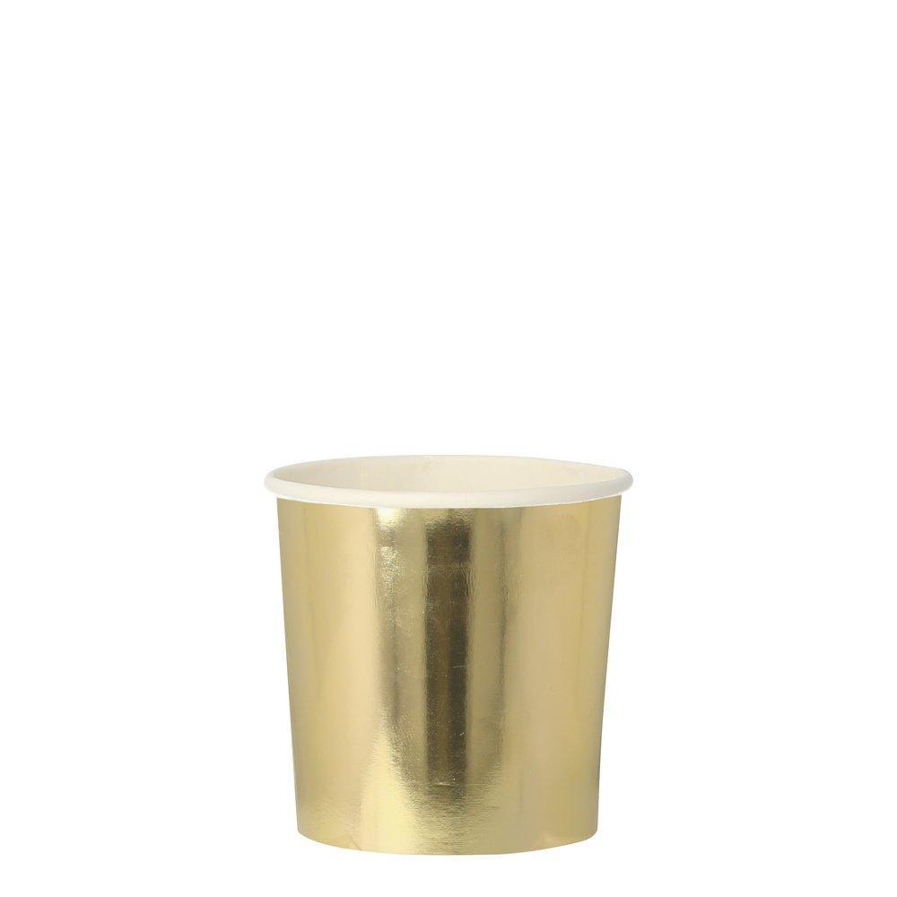Gold Party Cups-Party Love