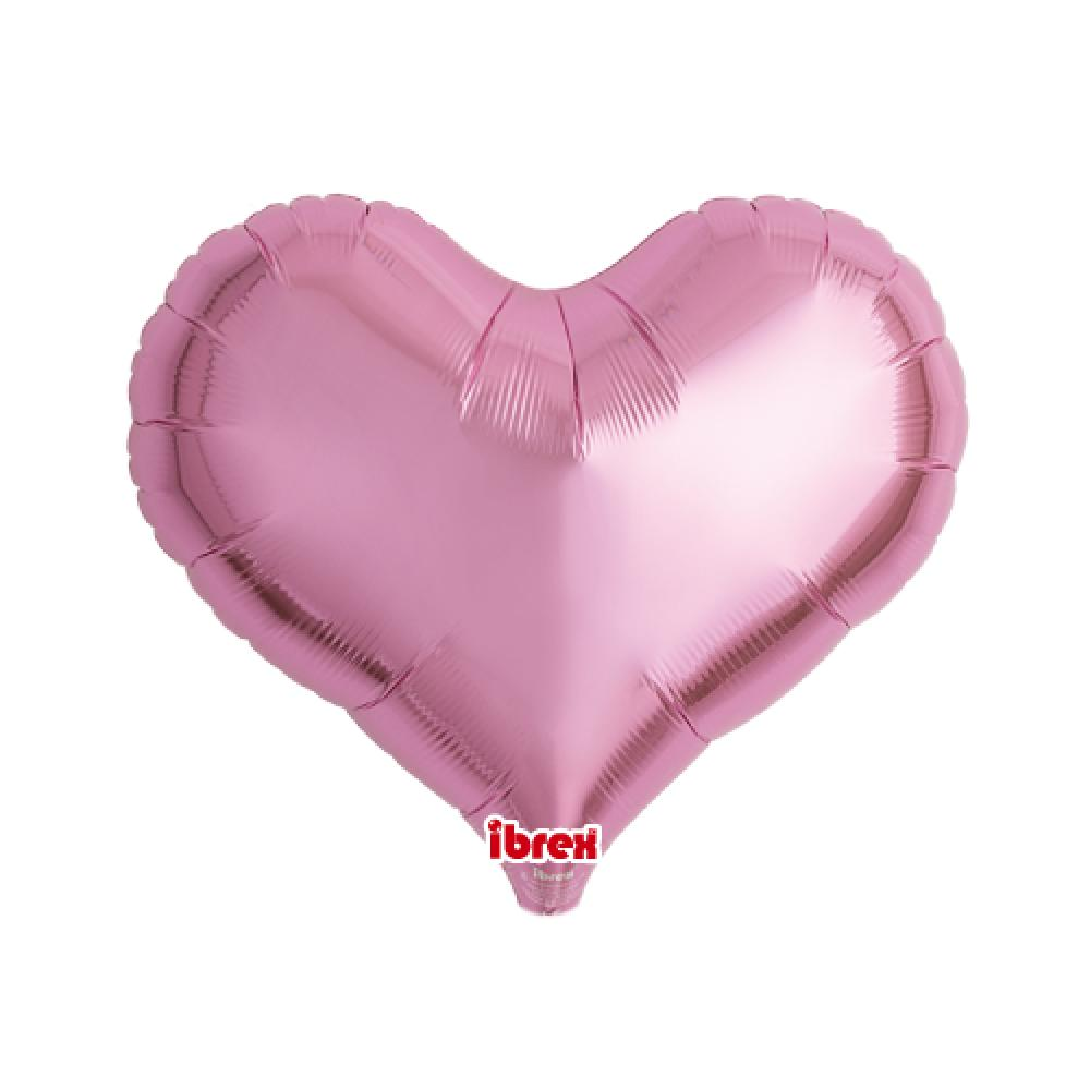 "IBREX JELLY HEART 14"" (36cm) METALLIC PINK-Party Love"