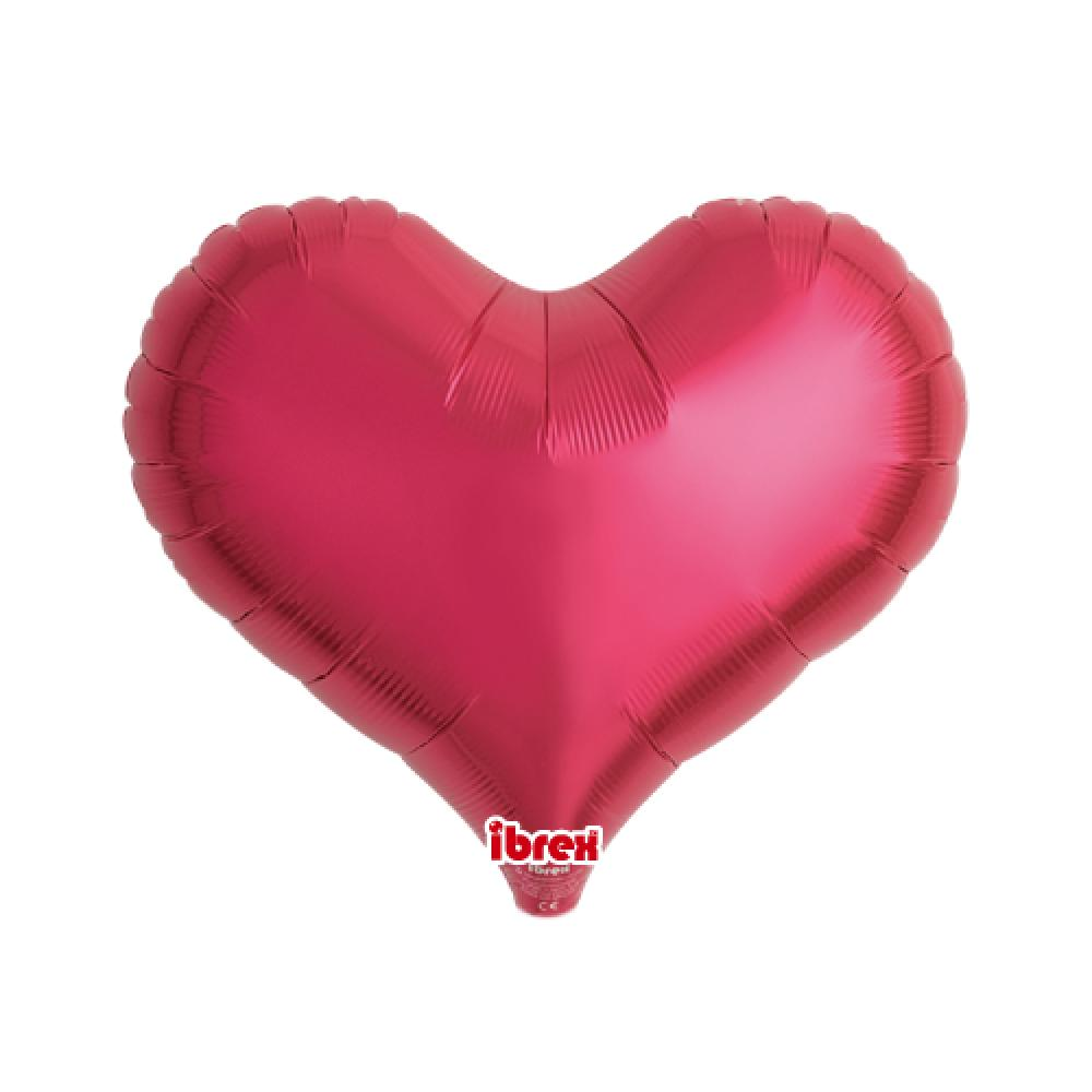 "IBREX JELLY HEART 14"" (36cm) METALLIC-Party Love"