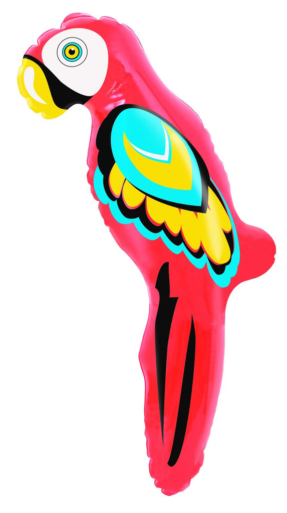 "Inflatable Parrot 45cm (18"")-Party Love"