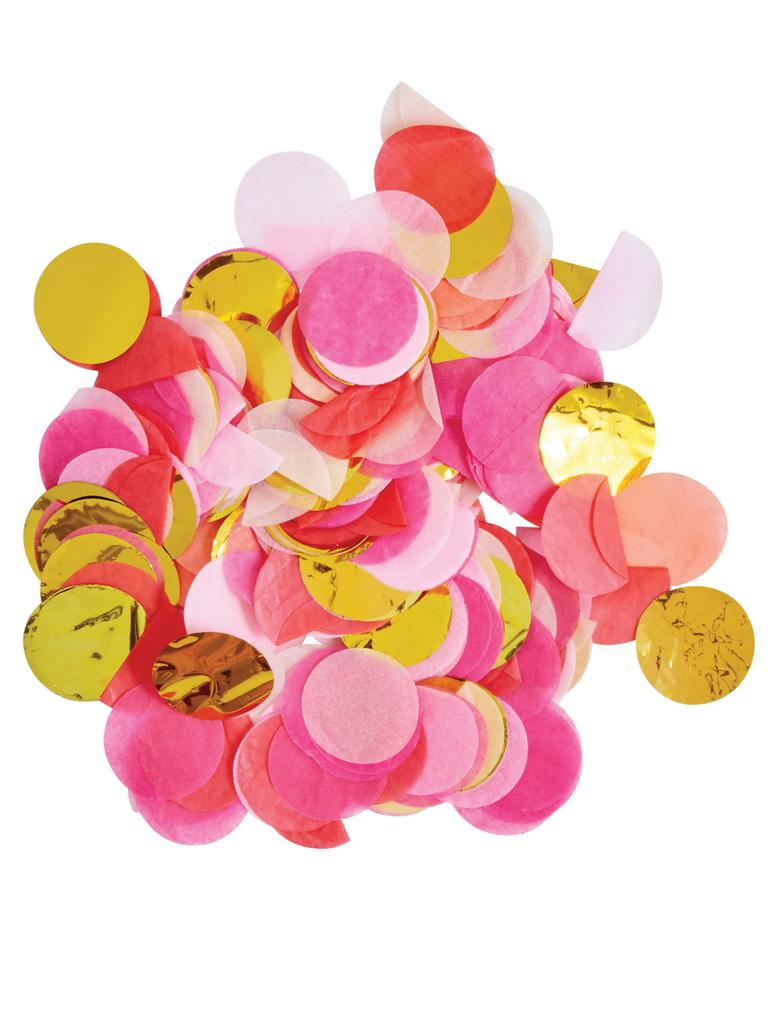 Jumbo Confetti | Pink Shimmer - Pink Shimmer Jumbo Confetti-Party Love