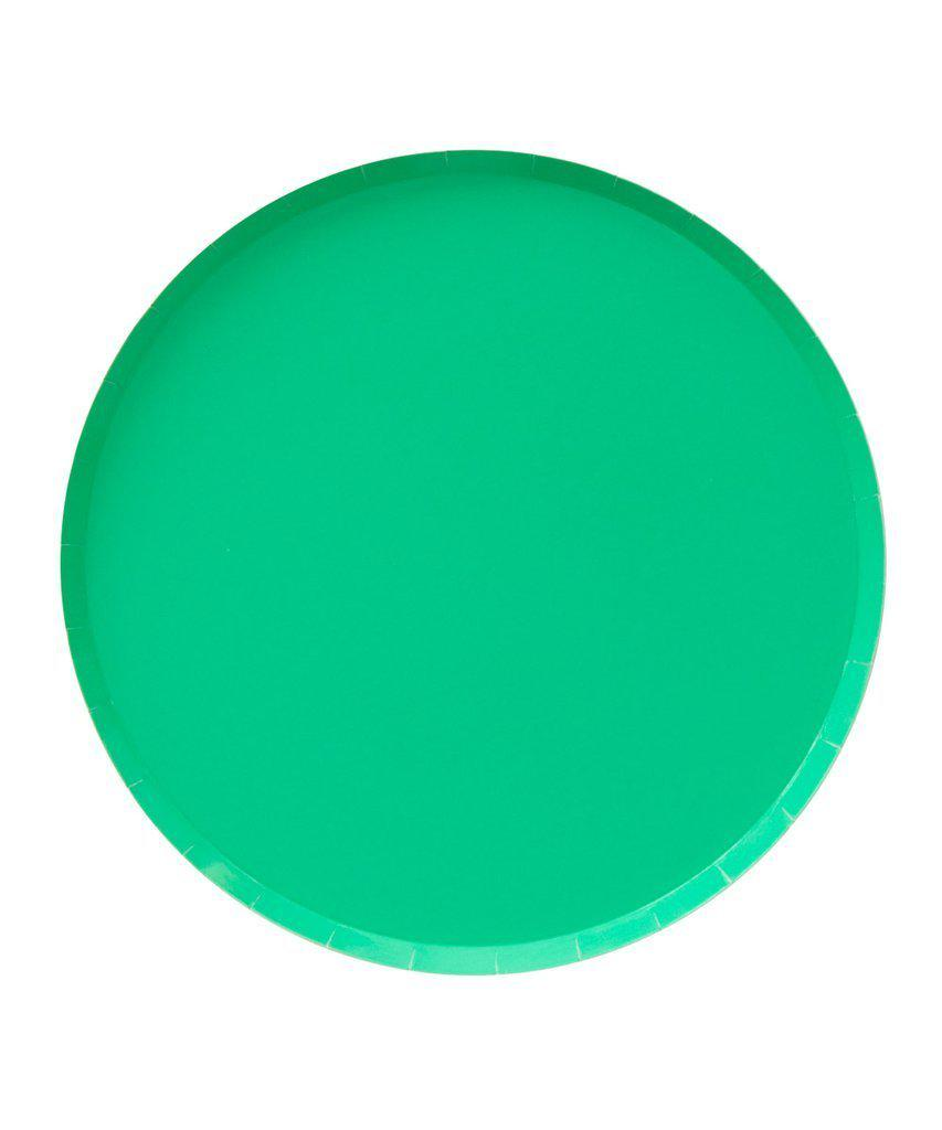 Kelly Green Party Plates (Large)-Party Love