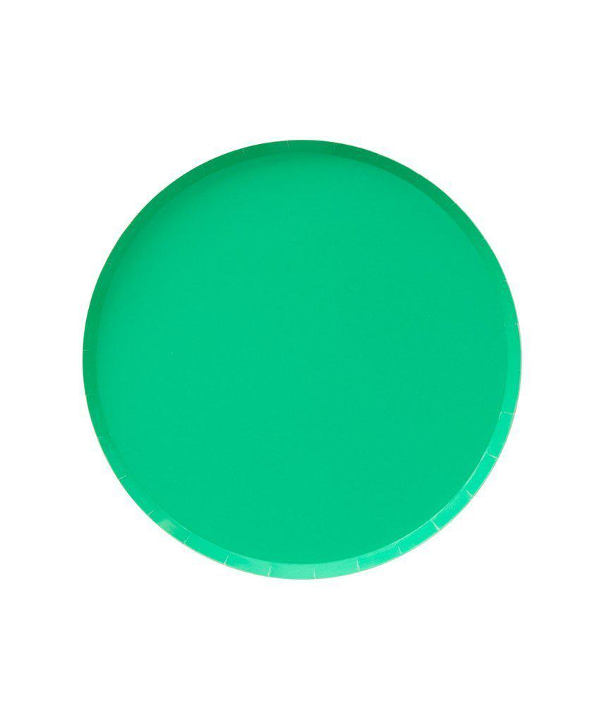 Kelly Green Party Plates (Small)-Party Love