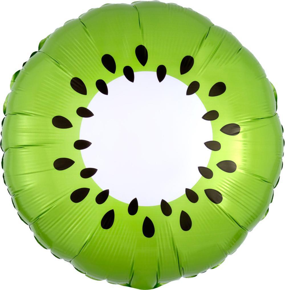 "Kiwi Foil Balloon 18"" (46cm)-Party Love"