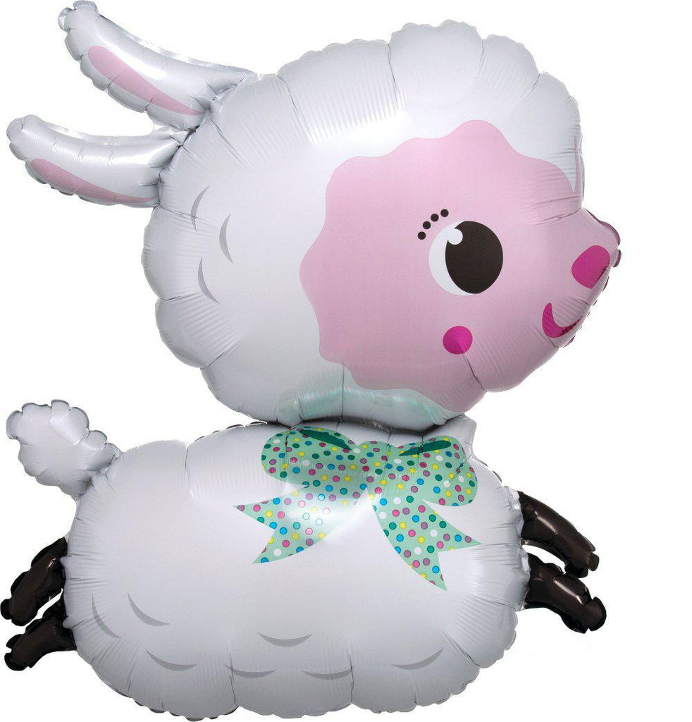 Lamby Foil Balloon 71cm-Party Love
