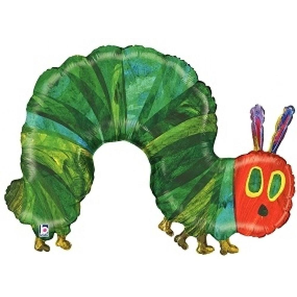 "Large 43"" Foil Balloon The very hungry caterpillar-Party Love"