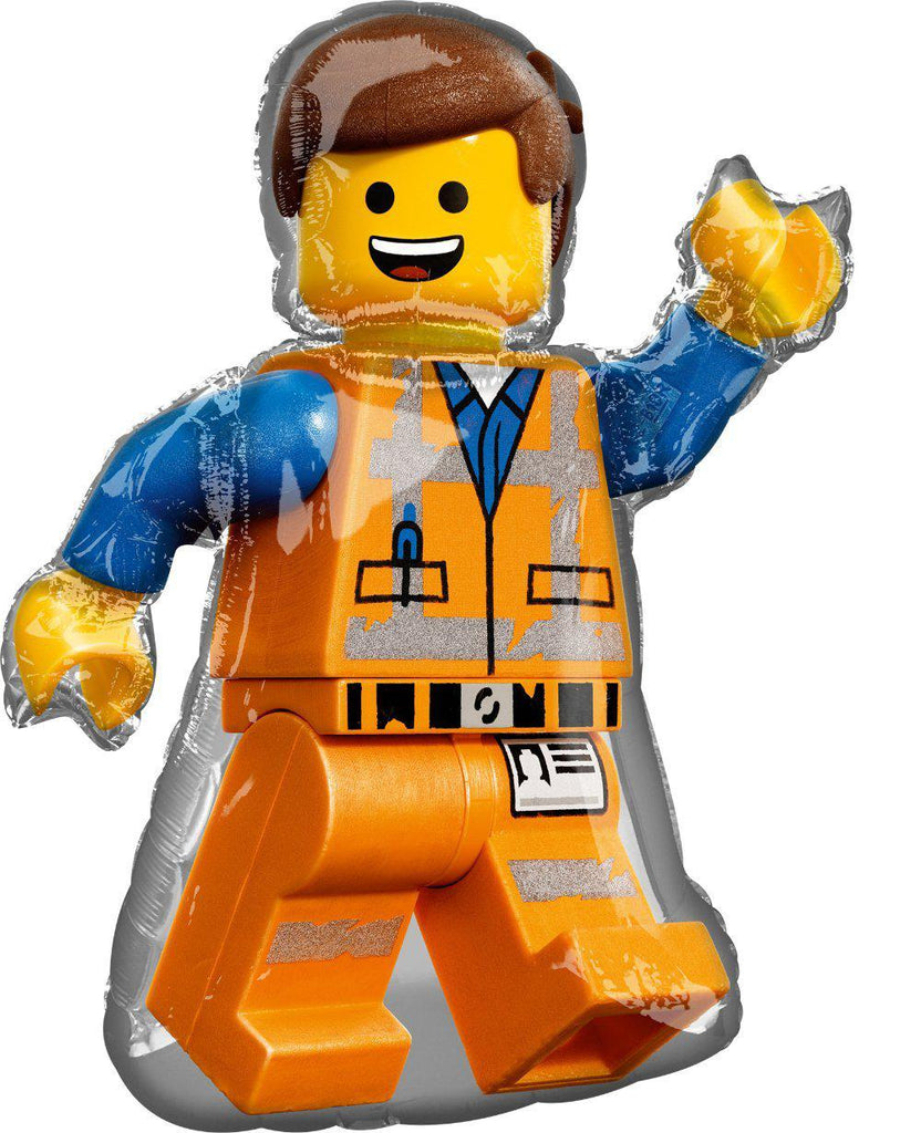 Lego Foil Balloon 81cm Emmet Lego Movie 2-Party Love
