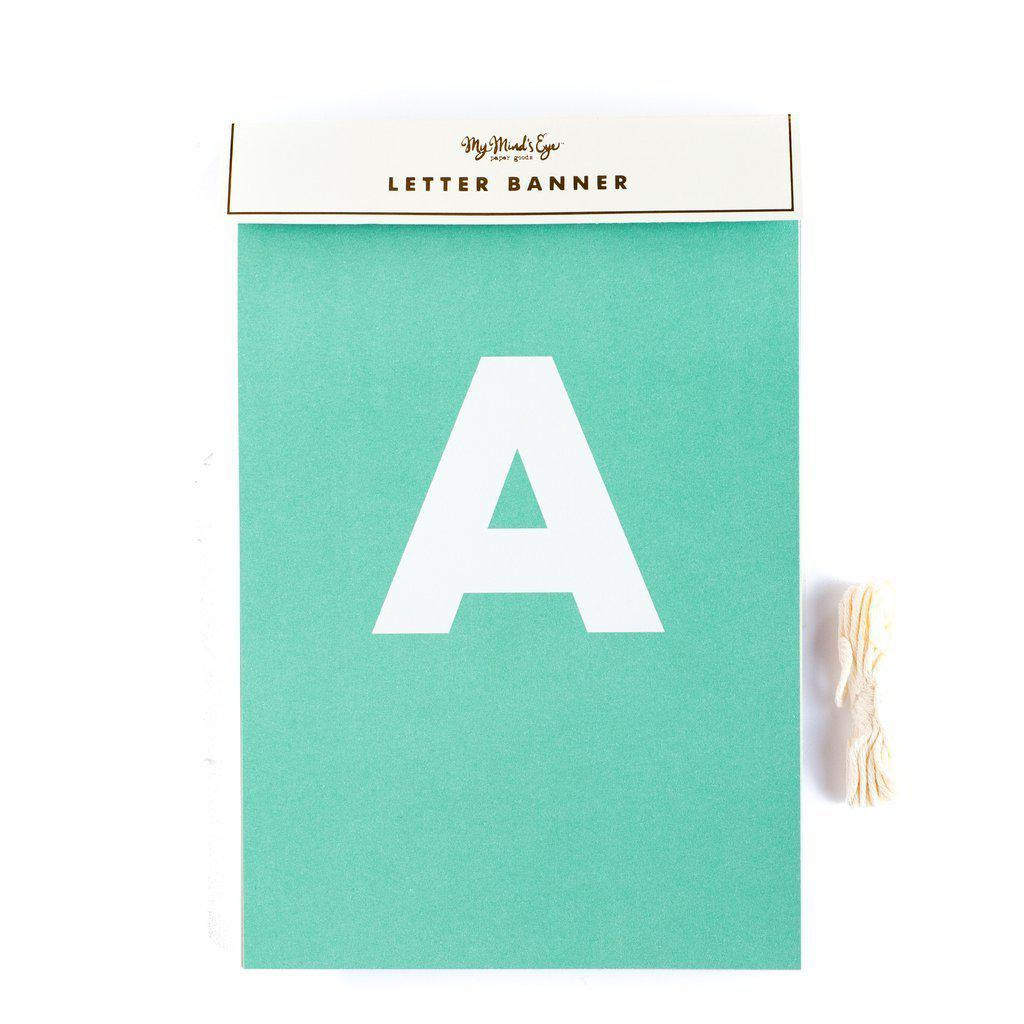 Letter Banner Bunting (Makes loads of phrases)-Party Love
