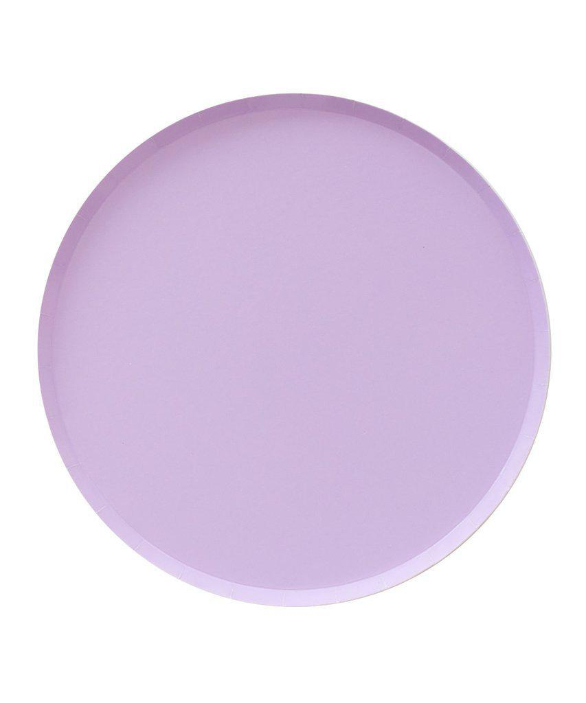 Lilac Paper Plates (Large)-Party Love