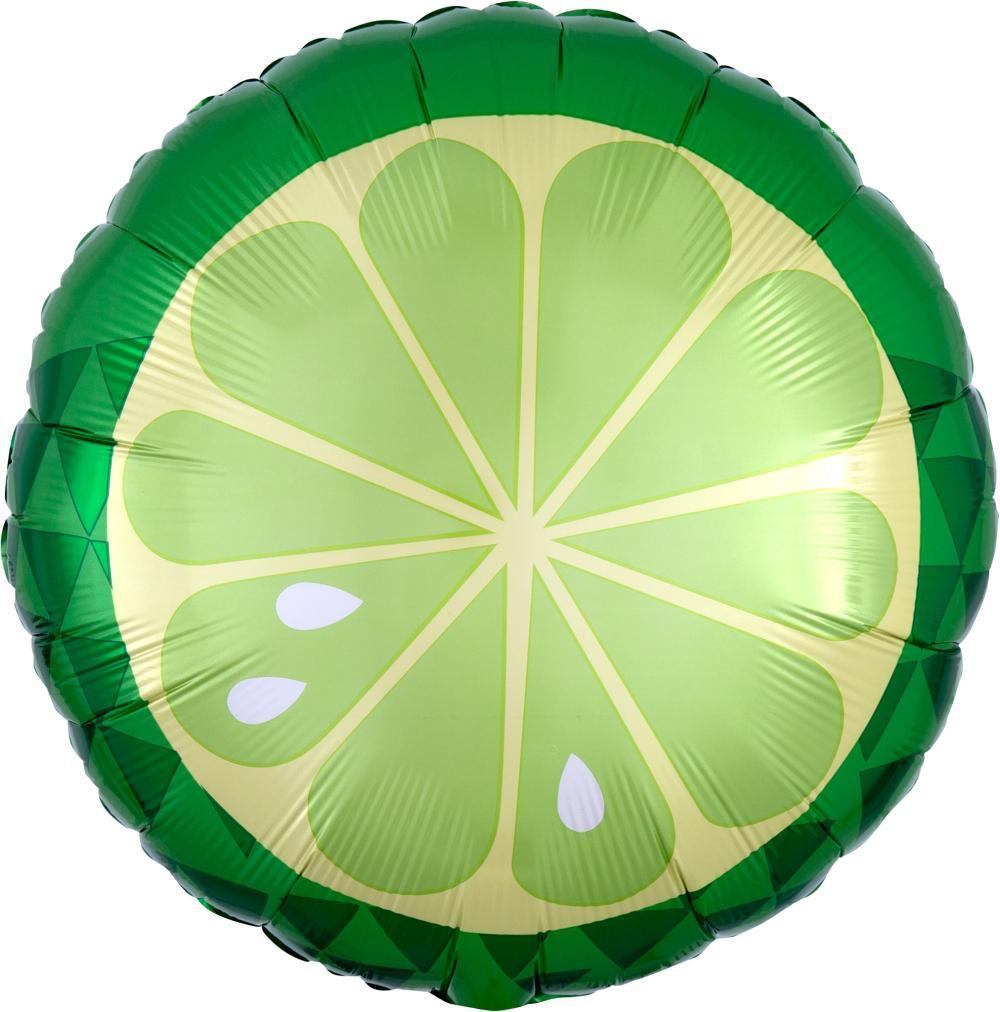 "Lime Foil Balloon 18"" (46cm)-Party Love"
