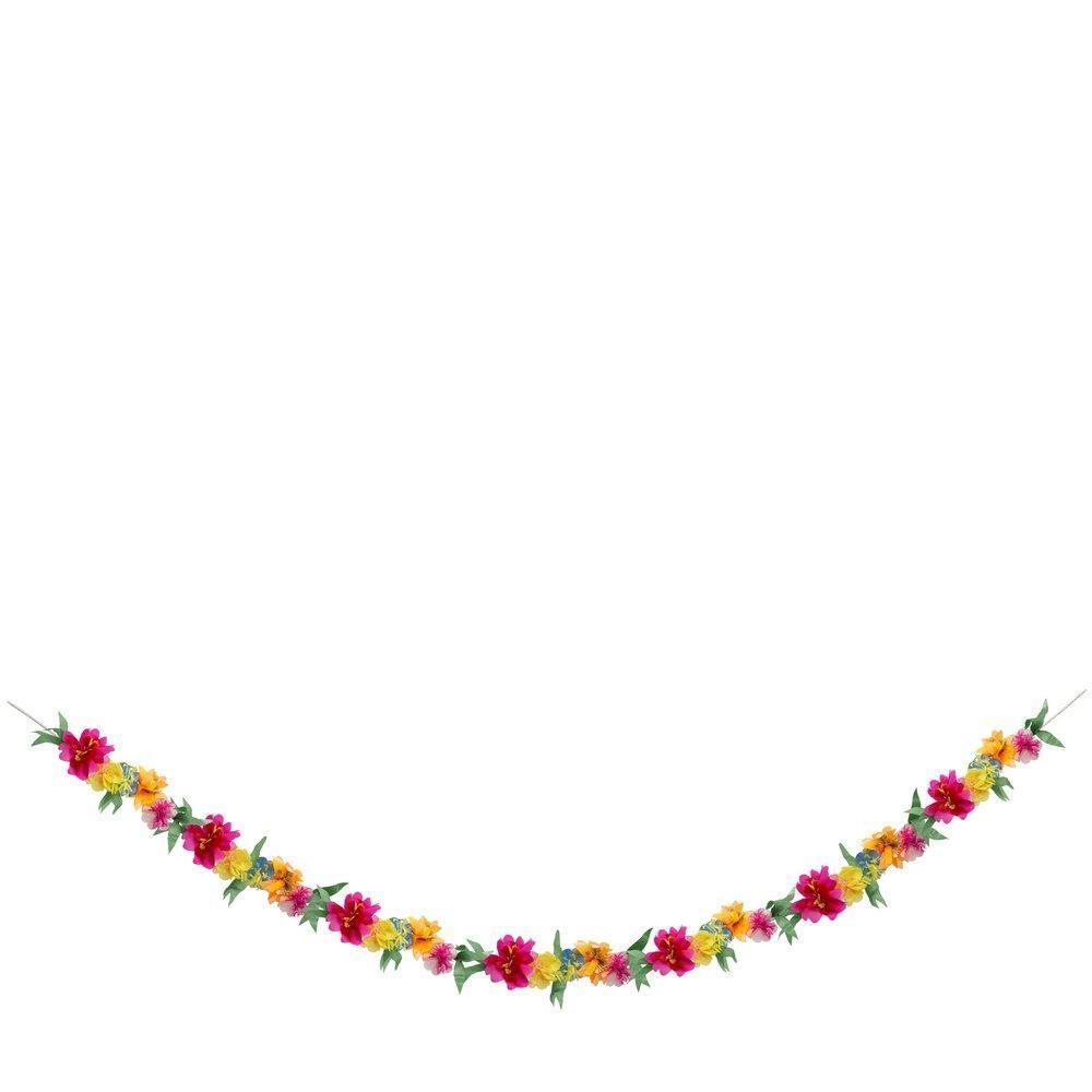 Meri Meri Bright Blossom Garland 3.5 Meters-Party Love