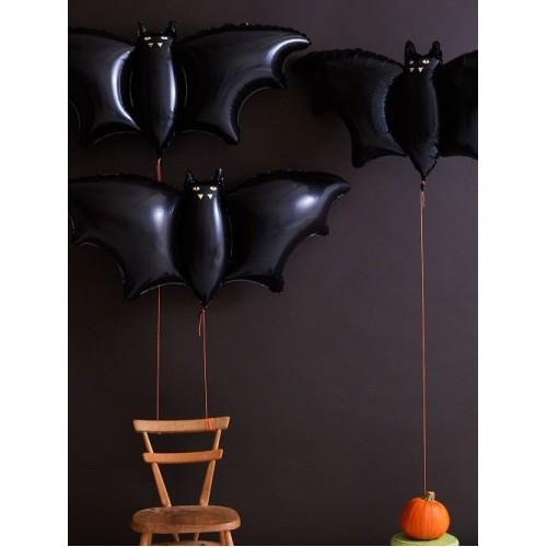 Meri Meri Halloween Bat Foil Balloons (3 Pack)-Party Love