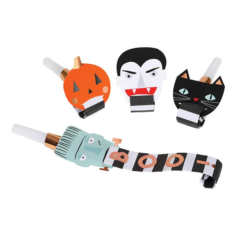 Meri Meri Halloween Character Party Blowers-Party Love