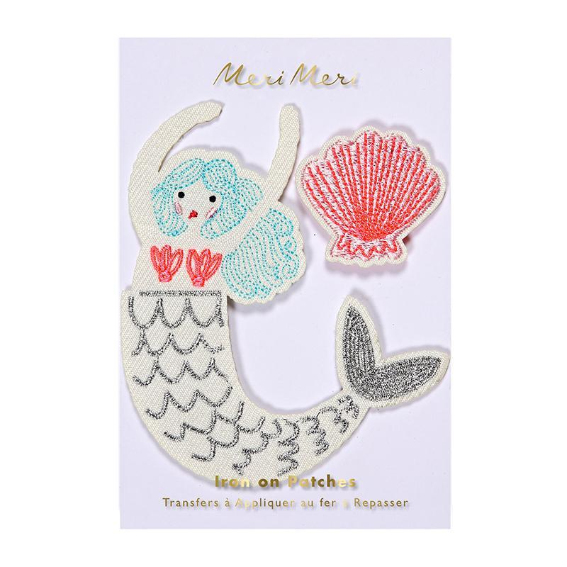 Mermaid Iron on Patch – Mermaid Party Supplies-Party Love