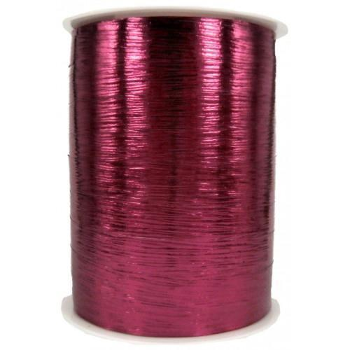 Metallic Burgundy Shiraz Balloon Ribbon-Party Love