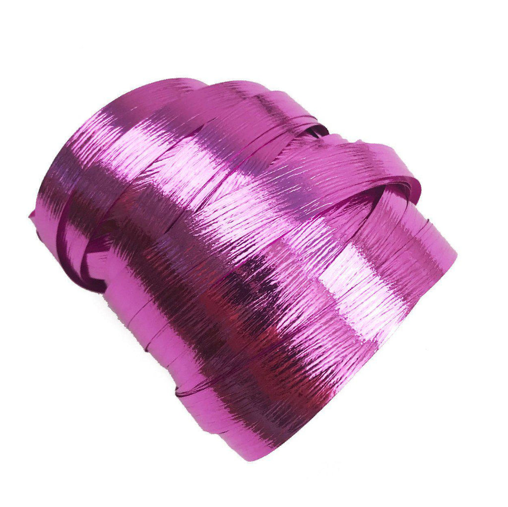 Metallic Cerise Balloon Ribbon-Party Love
