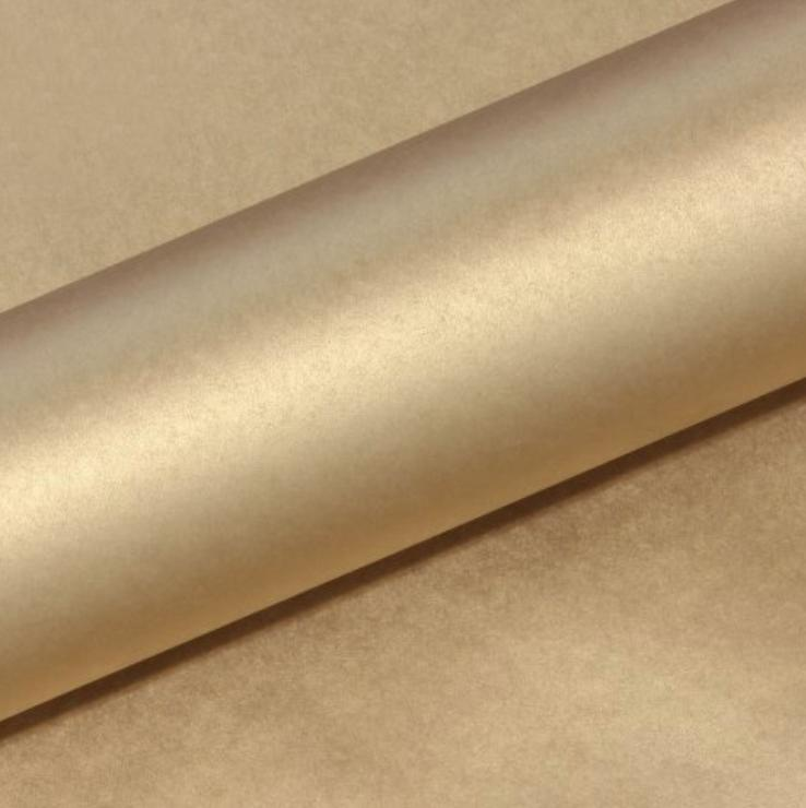 Metallic Champagne Gold Wrapping Paper Counter Roll-Party Love