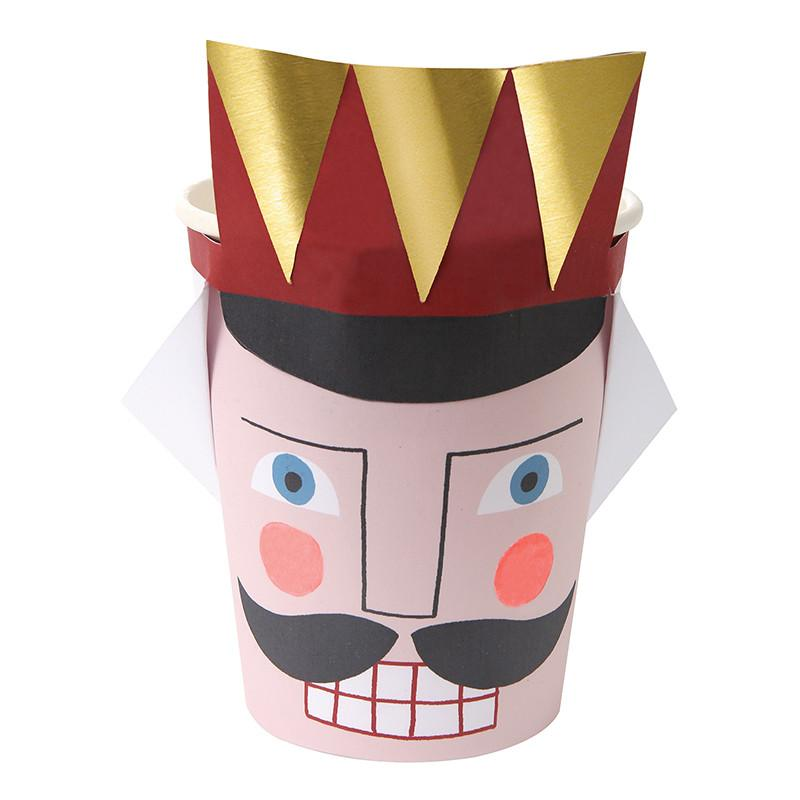 Nutcracker Soldier Christmas Party Cups-Party Love