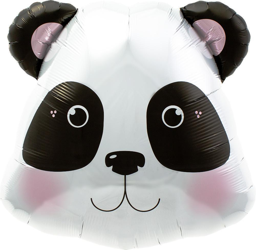 "Panda Head Foil Balloon 28"" (71cm)-Party Love"