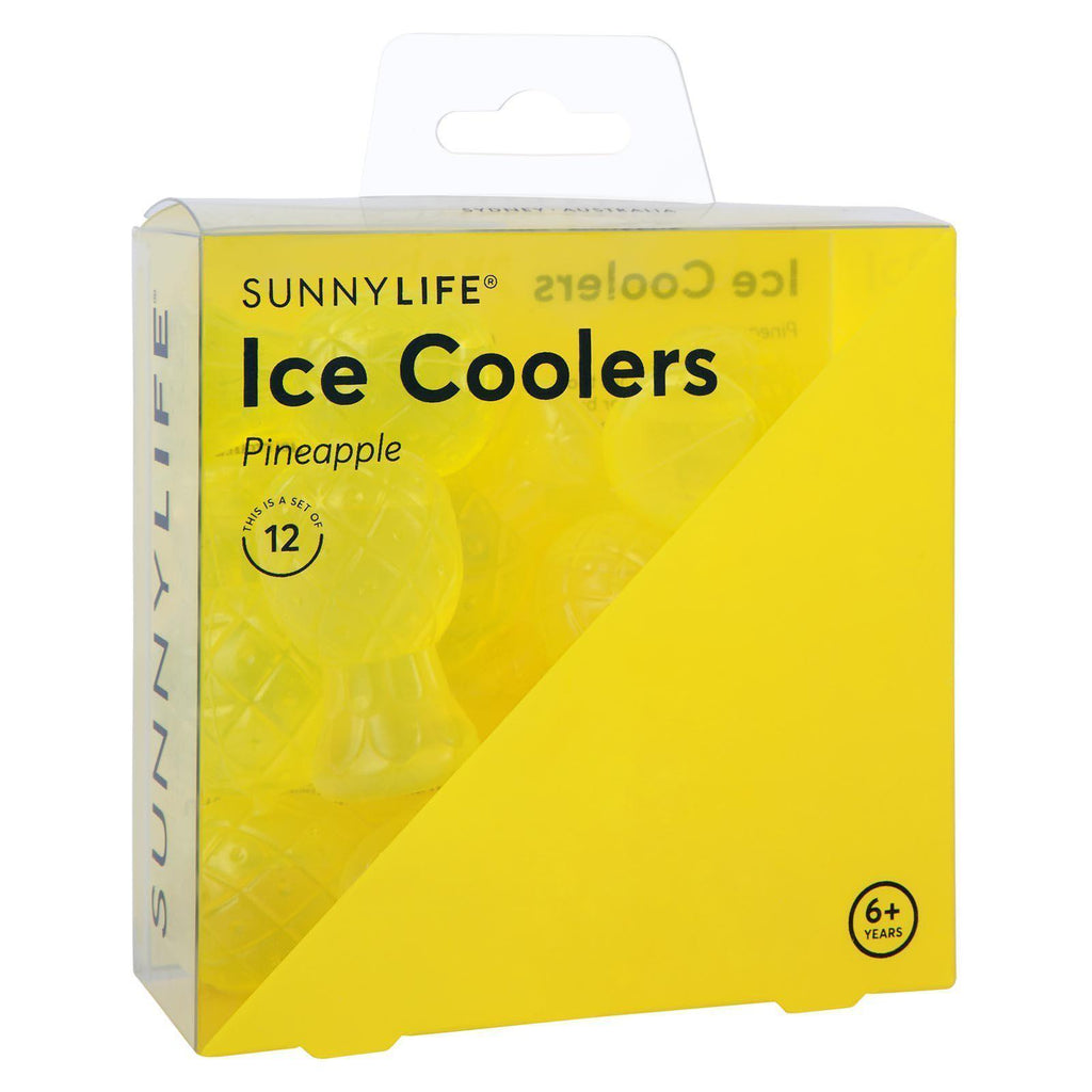 Pineapple Drink Ice Coolers - Works like ice (12 Pack)-Party Love