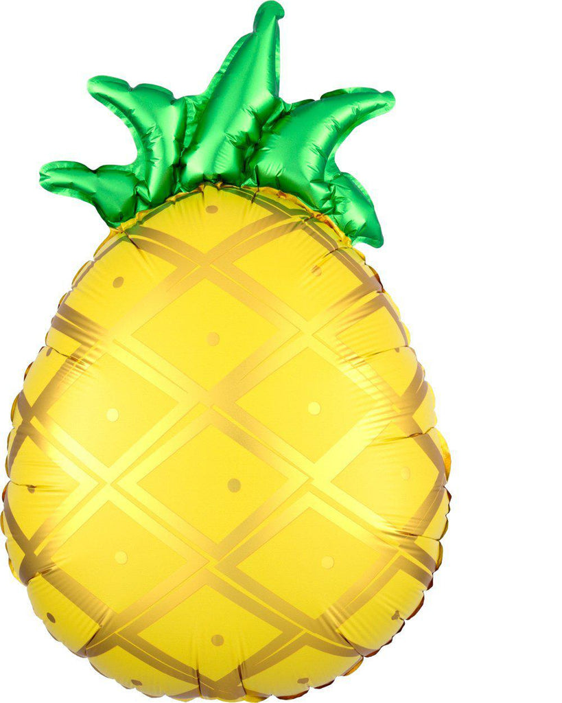 Pineapple Foil Balloon 53cm-Party Love