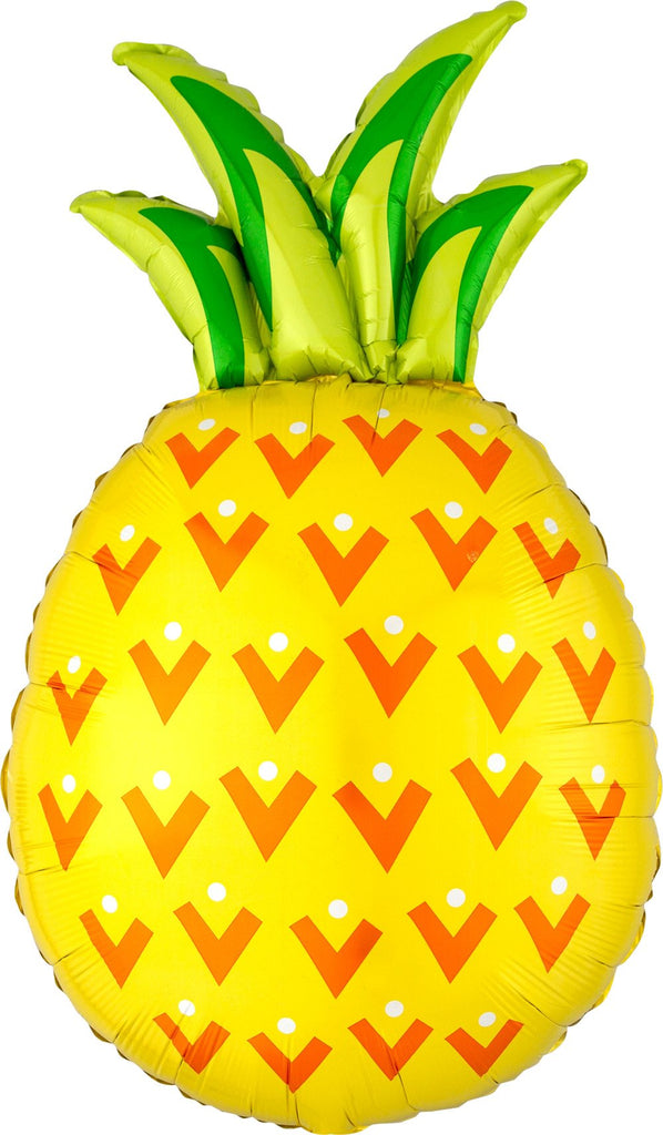 Pineapple Foil Balloon 78cm-Party Love