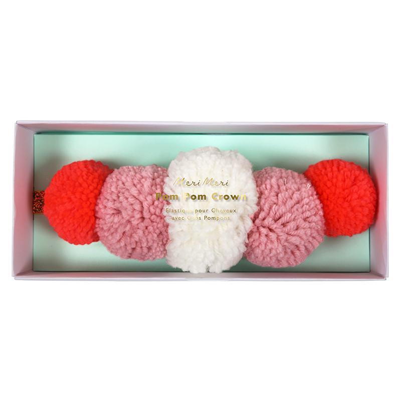 Pom Pom Crown-Party Love