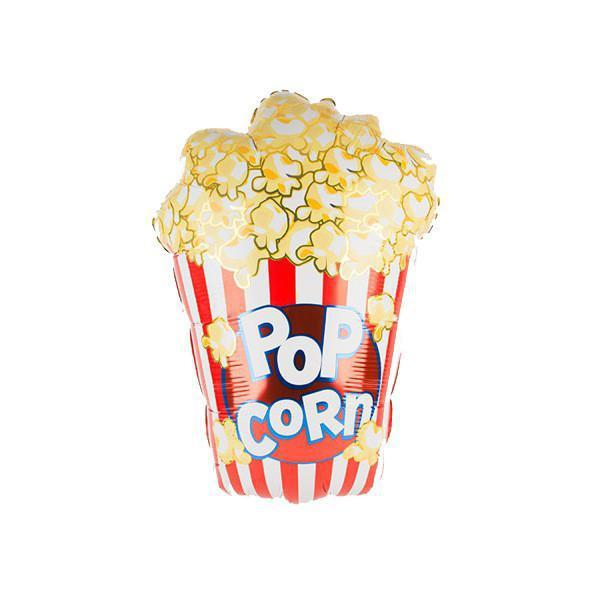 Popcorn Foil Balloon 97cm (38 inch)-Party Love