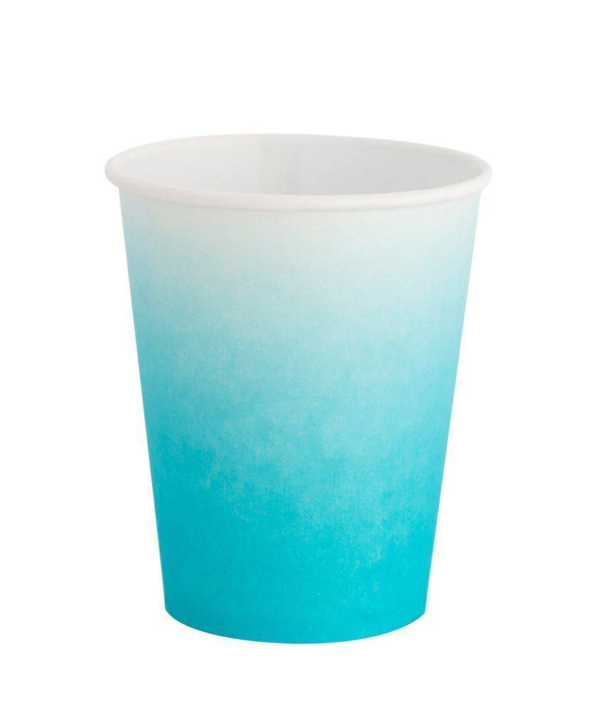 Sky Blue Ombre Cups-Party Love