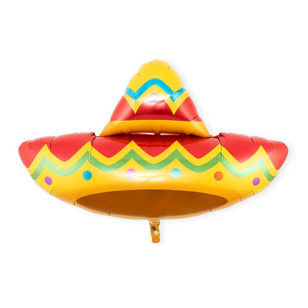 Sombrero Foil Balloon 104cm-Party Love