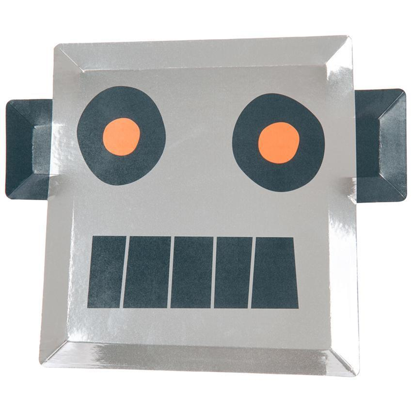 Space Robot Party Plates-Party Love
