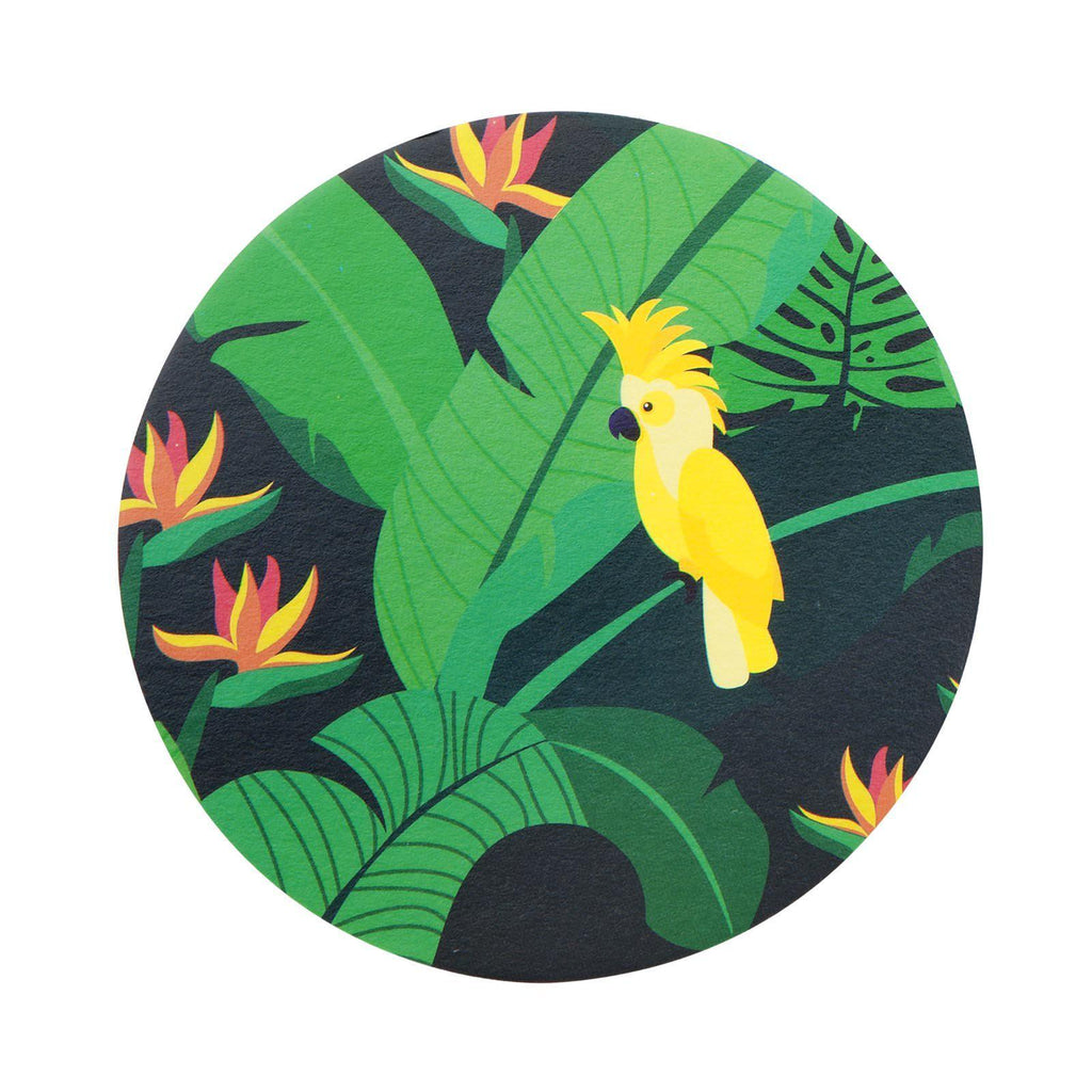 Sunnylife Coasters Monteverde Jungle Palm leaves 2 Sided Designs-Party Love