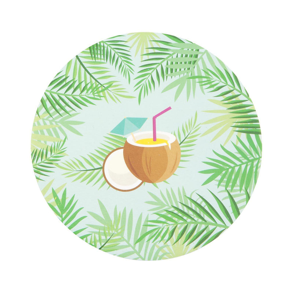 Sunnylife Pina Colada Coasters 2 Sided-Party Love