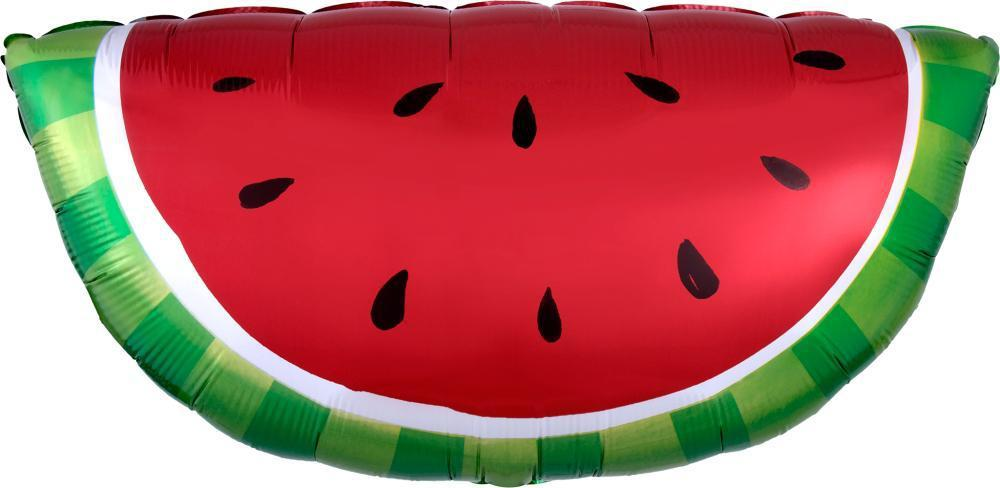 "Watermelon Balloon (Red) 32"" Foil-Party Love"