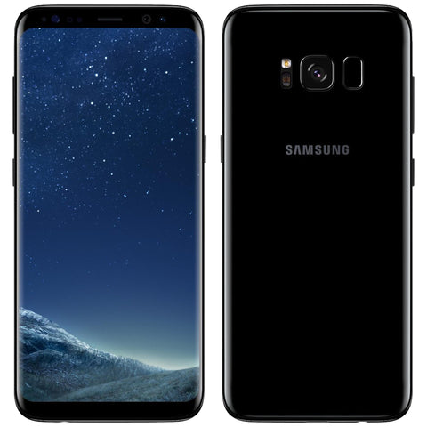 Samsung Galaxy S8 Verizon 64GB Midnight Black