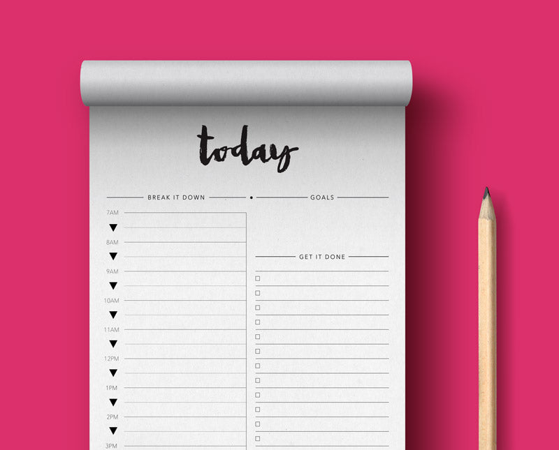 Focus on TODAY - Notepad
