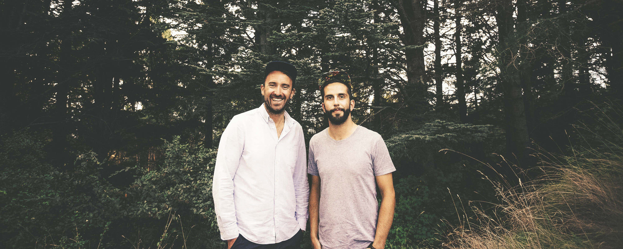 Offcut Co-CEOs Adrien Taylor and Dan Price.